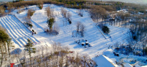 Birds eye view of McIntyre Ski Area